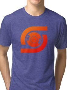 Spin Vinyl Tri-blend T-Shirt