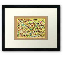 May I Have a Word? Framed Print