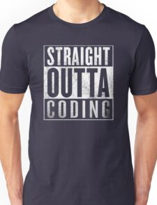 Straight Outta Coding Unisex T-Shirt