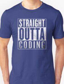Straight Outta Coding Unisex T-Shirt