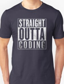 Straight Outta Coding T-Shirt