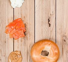 Deconstructed Bagel. by sallyrose1