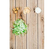 Deconstructed Caesar Salad.  Photographic Print