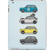 Stack of Honda N360 N600 Kei Cars iPad Case/Skin