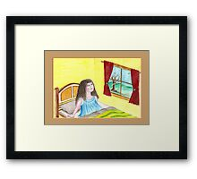 Dreams that lift the spirit Framed Print