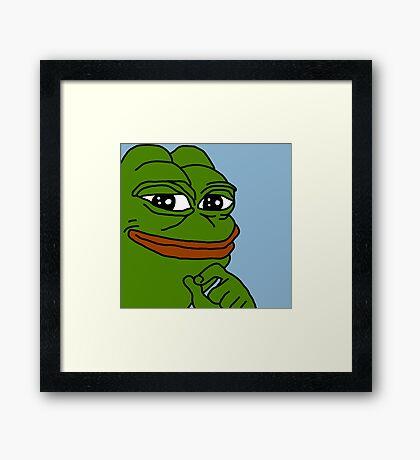 Classic Pepe Framed Print