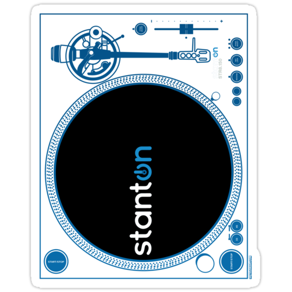 Official Stanton STR8-150 Turntable by HOTDJGEAR