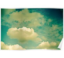 Cloud Study One Poster