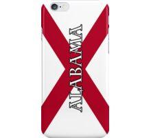 Smartphone Case - State Flag of Alabama  - Vertical Named iPhone Case/Skin