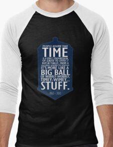 Wibbly Wobbly Men's Baseball ¾ T-Shirt