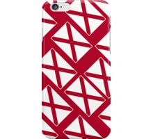 Smartphone Case - State Flag of Alabama  - Patchwork Diagonal iPhone Case/Skin