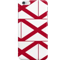 Smartphone Case - State Flag of Alabama  - Patchwork Horizontal iPhone Case/Skin