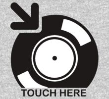 Vinyl Touch Here Kids Clothes