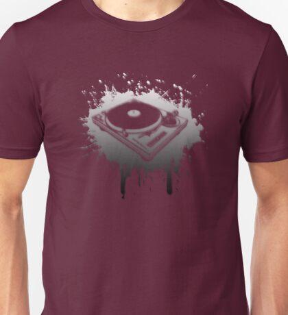 Turntable Graffiti Unisex T-Shirt