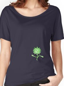Vinyl Flower Women's Relaxed Fit T-Shirt