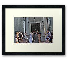 Happiness Wedding.  Andrzej Goszcz Photography. Framed Print