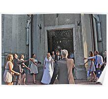 Happiness Wedding.  Andrzej Goszcz Photography. Poster