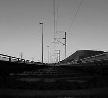Rail over Gariep Dam  by oldschool24