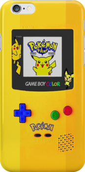 Gameboy Color Pokemon edition by Jordan Bails