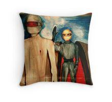 Klaatus Duchamp Throw Pillow