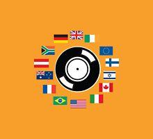 World wide DJ Unisex T-Shirt