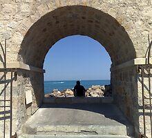 Antibes Port by John Evans
