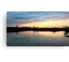 Twilight at the Quarry Canvas Print