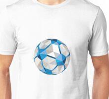 Soccer Football Ball Low Polygon Unisex T-Shirt
