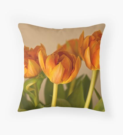 Tulpen III Throw Pillow