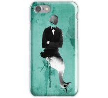 swan+man iPhone Case/Skin