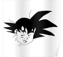 B&W Goku Poster