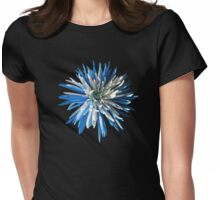 Blue and white chrysanthemum print/t-shirt/case/mug/duvet cover/cushion/tote Womens Fitted T-Shirt