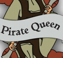 The Pirate Queen Sticker