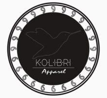 BIG Circle Logo - Black by Kolibri Apparel