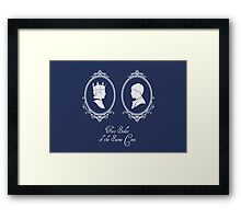Two Sides of the Same Coin (new) Framed Print