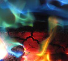 Aurora fire by Yorkspalette