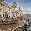 Piazza Navona in the morning by Andrea Rapisarda