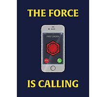THE FORCE IS CALLING (FIRST ORDER) Photographic Print