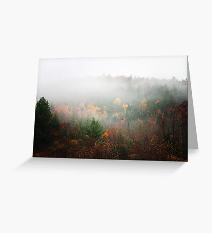 In the Midst of the Mist Greeting Card