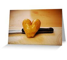Spud Love! Greeting Card