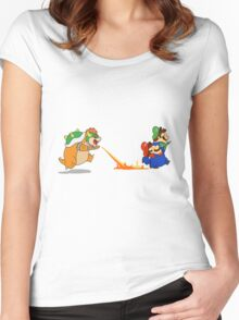 SuperMario Beans Women's Fitted Scoop T-Shirt