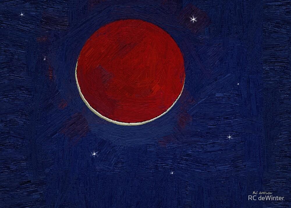 Dragonsblood Moon by RC deWinter