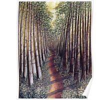 Allerthorpe forest trail Poster