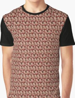 Michael Cera Tiled Heads Graphic T-Shirt