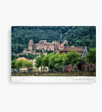 Historic Heidelberg Canvas Print