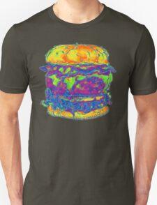 Neon Bacon Cheeseburger T-Shirt