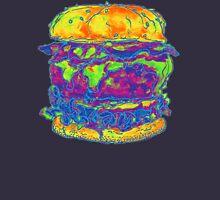 Neon Bacon Cheeseburger Unisex T-Shirt