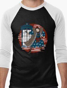 Sensei Who (Red Sun Version) Men's Baseball ¾ T-Shirt