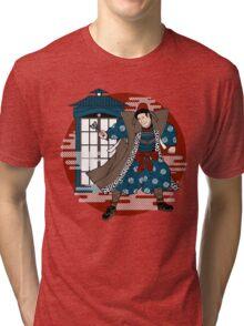 Sensei Who (Red Sun Version) Tri-blend T-Shirt