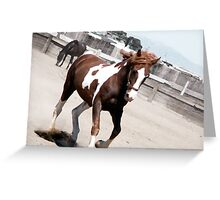 Corral Greeting Card